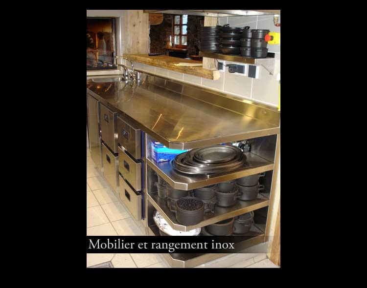 Viglino serrurerie decorative chaudronnerie for Mobilier professionnel cuisine